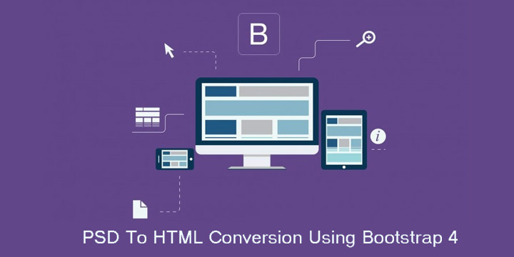 PSD-To-HTML-Conversion-Using-Bootstrap-4