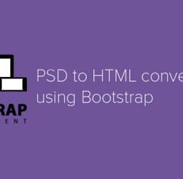 PSD To HTML Using Bootstrap Responsive