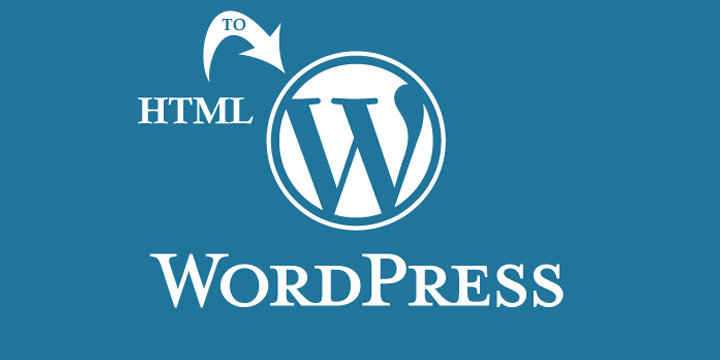 HTML to create a WordPress